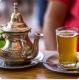 Thé marocain à la menthe fraiche